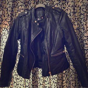 Unique Black Leather Jacket